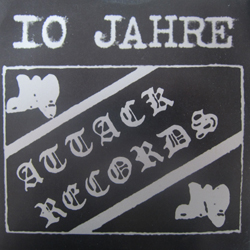 Cover of 10 Jahre Attack Records 7""