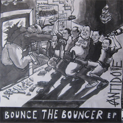 Cover of Bounce The Bouncer 7""