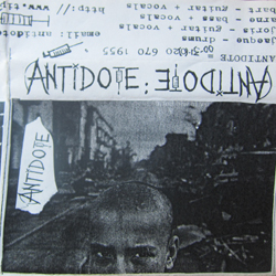 Cover of second demo cassette
