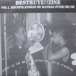 Cover of Destruye!!Zine vol. 1