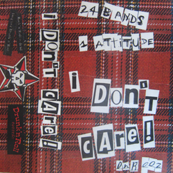 Cover of I Don't Care sapmler cassette