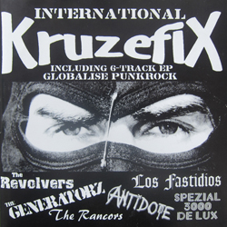 Cover of International Kruzefix 7""