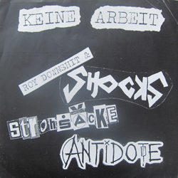 Cover of Antidote/The Shocks/Die Strohsäcke 7""