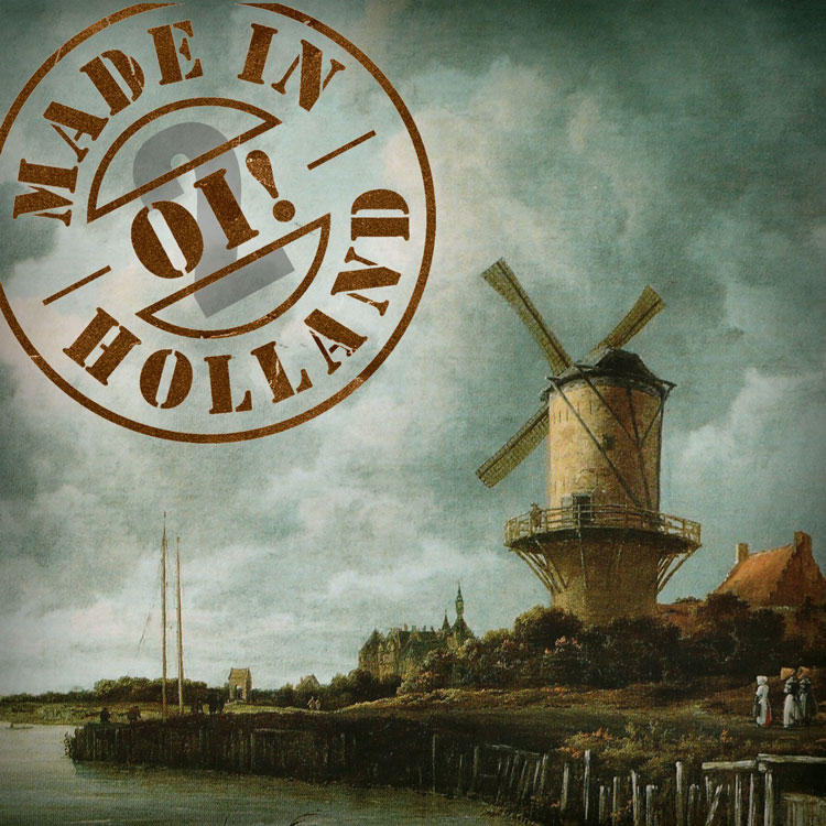 Cover of Oi! made inHolland vol. 2