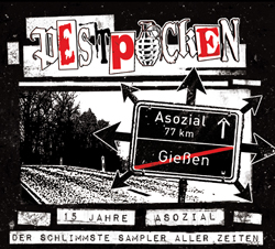 Cover of Pestpocken tribute CD