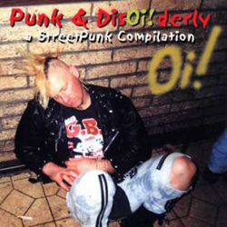Cover of Punk and Disoi!rderly compilation CD