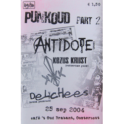Cover of Punkoud part 2 live cassette
