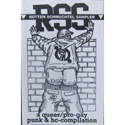 Cover of Rotten Schwuchtel Sampler cassette